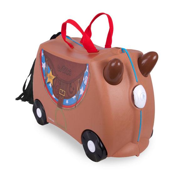 TRUNKI - Cestovní kufřík - Bronco - Kovboj