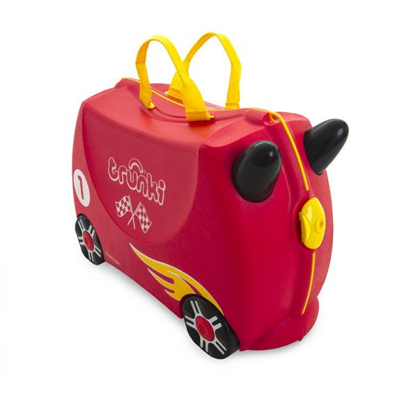 TRUNKI - Cestovní kufřík TRUNKI - Závodní auto