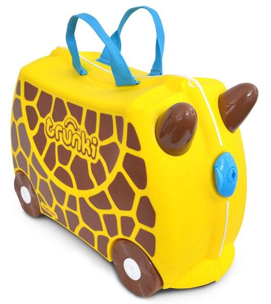 TRUNKI - Cestovní kufřík TRUNKI - Žirafa