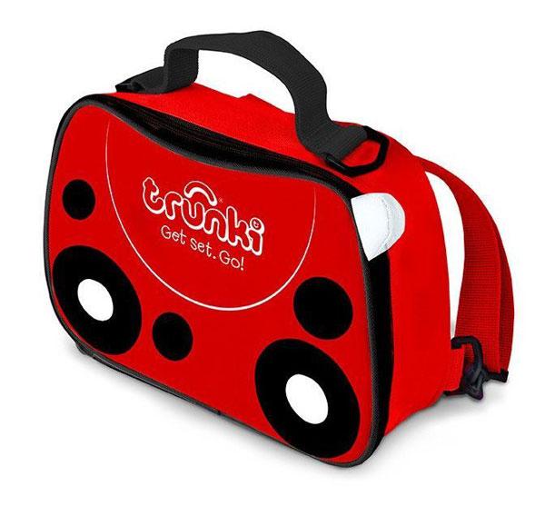 TRUNKI - svačinová termo taška - Červená - Beruška