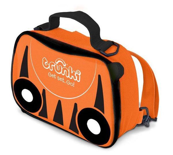 TRUNKI - svačinová termo taška - Oranžová - Tiger