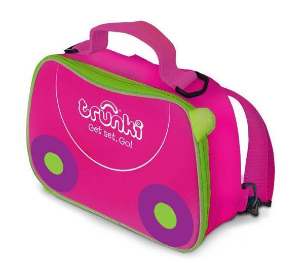 TRUNKI - svačinová termo taška - Růžová - Trixie