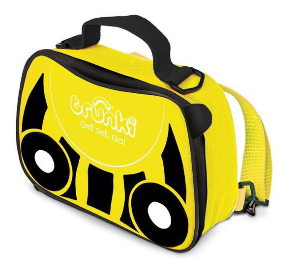 TRUNKI - svačinová termo taška - Žlutá - Včelka