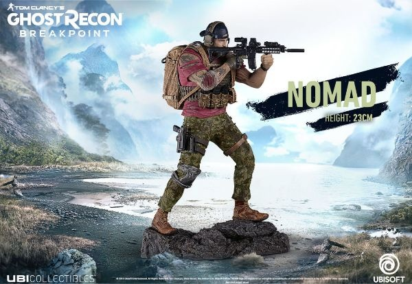 UBISOFT - Ghost Recon Breakpoint - Nomad Figurine