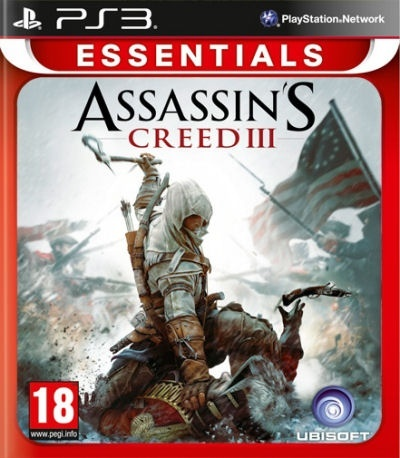 UBISOFT - PS3 Assassins Creed III. CZ Essentials