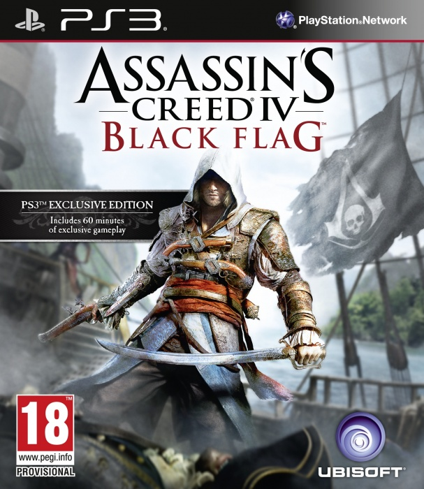 UBISOFT - PS3 Assassins Creed IV Black Flag Essentials