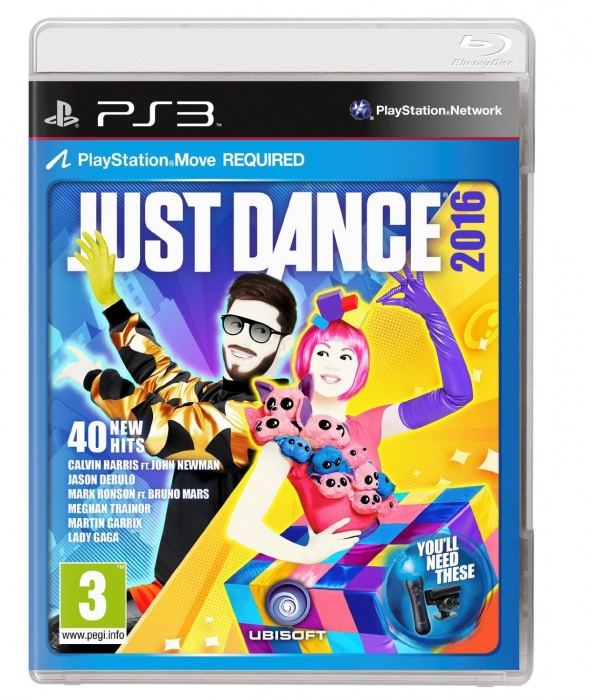 UBISOFT - PS3 Just Dance 2016