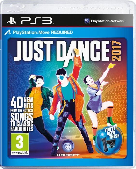 UBISOFT - PS3 Just Dance 2017