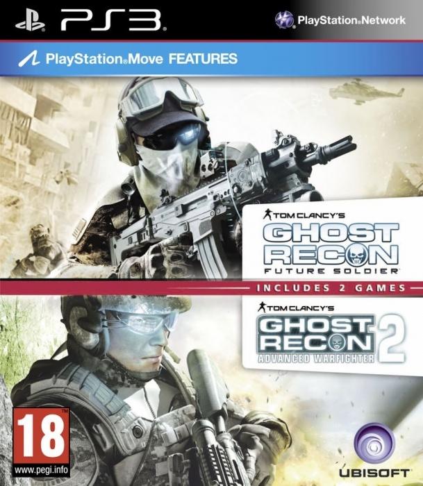UBISOFT - PS3 TC GR Future Soldier & GR Warfighter 2 Pack