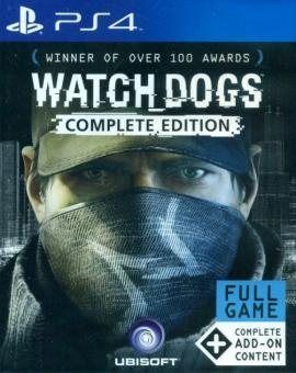 UBISOFT - PS4 Watch_Dogs Complete Edition