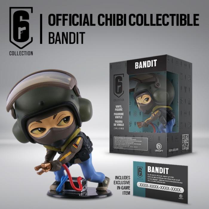 UBISOFT - Rainbow Six Siege Chibi Figurine - Bandit
