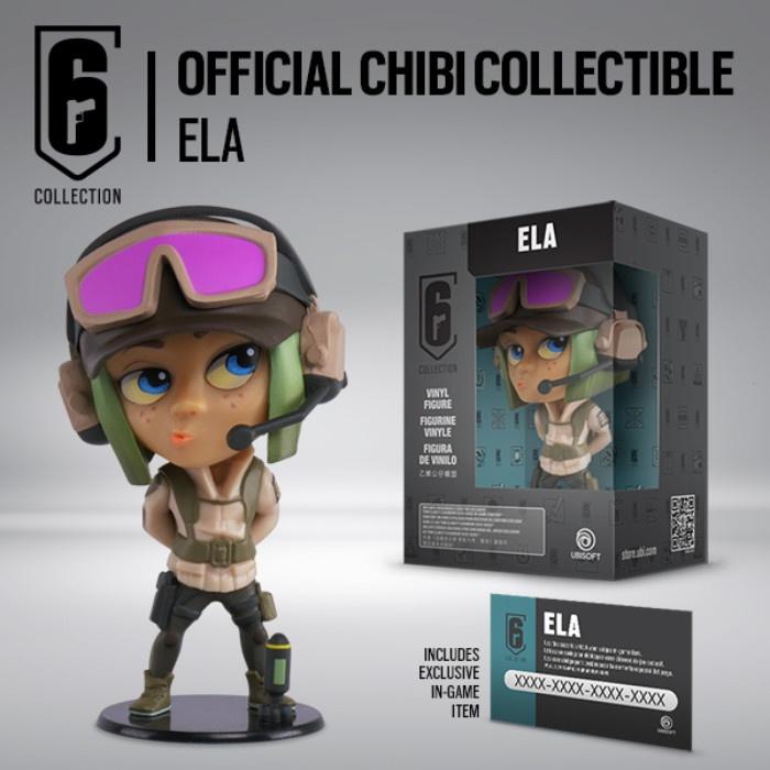 UBISOFT - Rainbow Six Siege Chibi Figurine - Ela