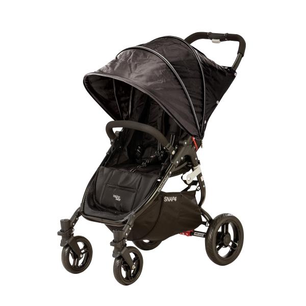 VALCO BABY - Kočárek sportovní - Valco SNAP 4 BLACK s polohovaním - černý