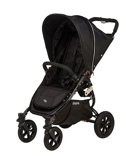 VALCO BABY - Kočárek sportovní - Valco SNAP 4 BLACK SPORT - černý