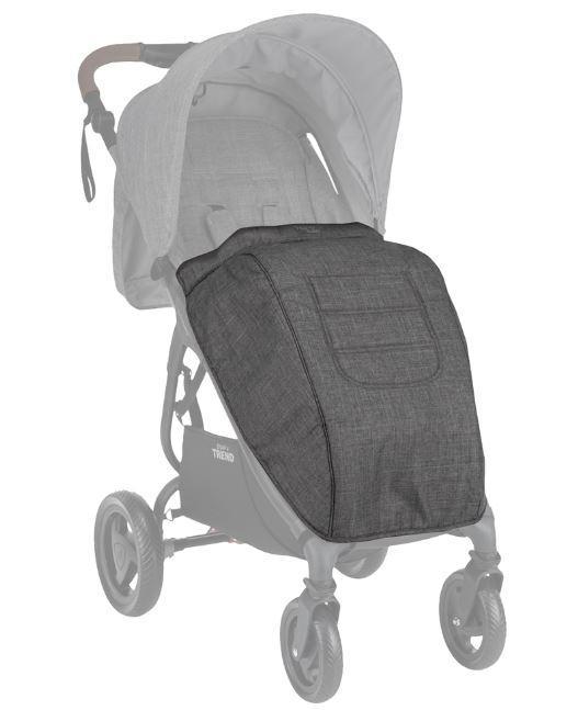 VALCO BABY - Nánožník ke kočárku Snap Trend Tailor Made Charcoal