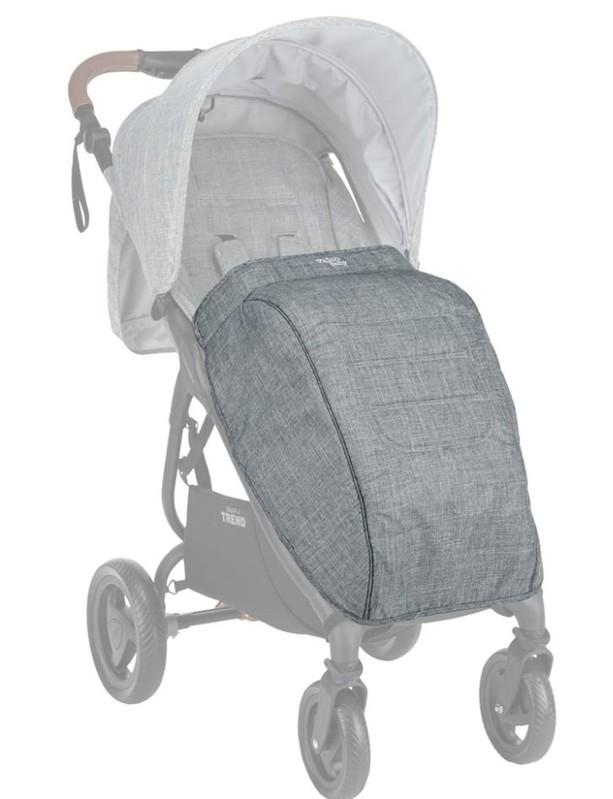 VALCO BABY - Nánožník ke kočárku Snap Trend Tailor Made Grey Marle