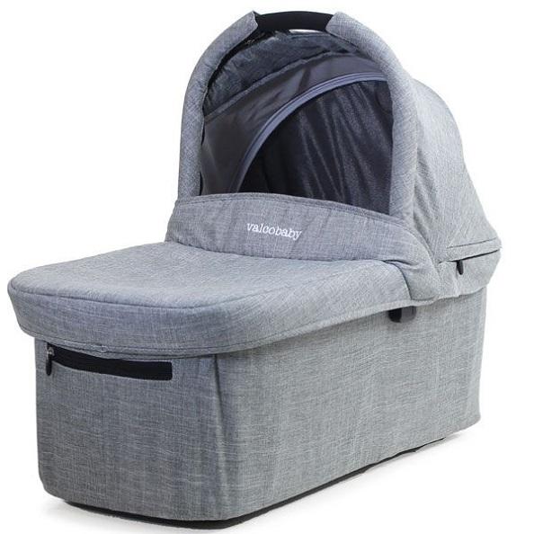 VALCO BABY - Korbička ke kočárku Valco Snap Ultra Trend Grey Marle