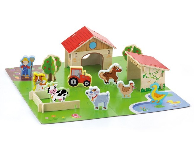 VIGA - Dřevěná farma