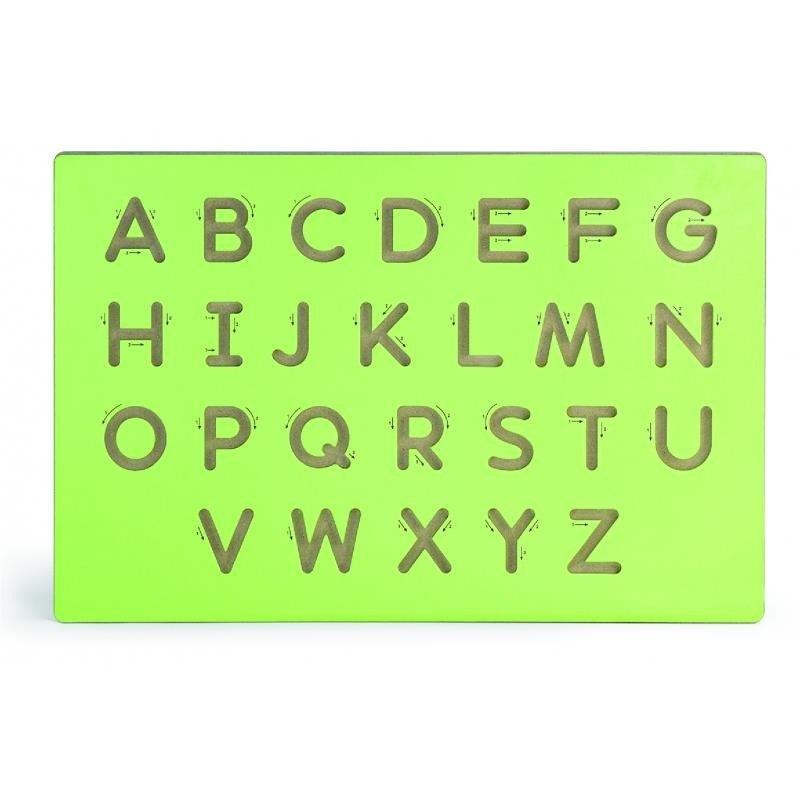VIGA - Dřevěná tabule na výuku psaní-velká písmena
