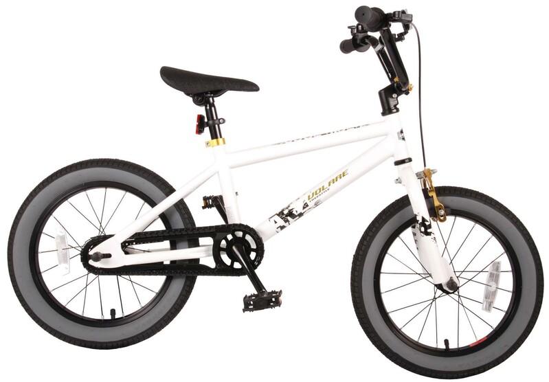 """VOLARE - Cool Rider Dětské kolo 16 """"- White"""