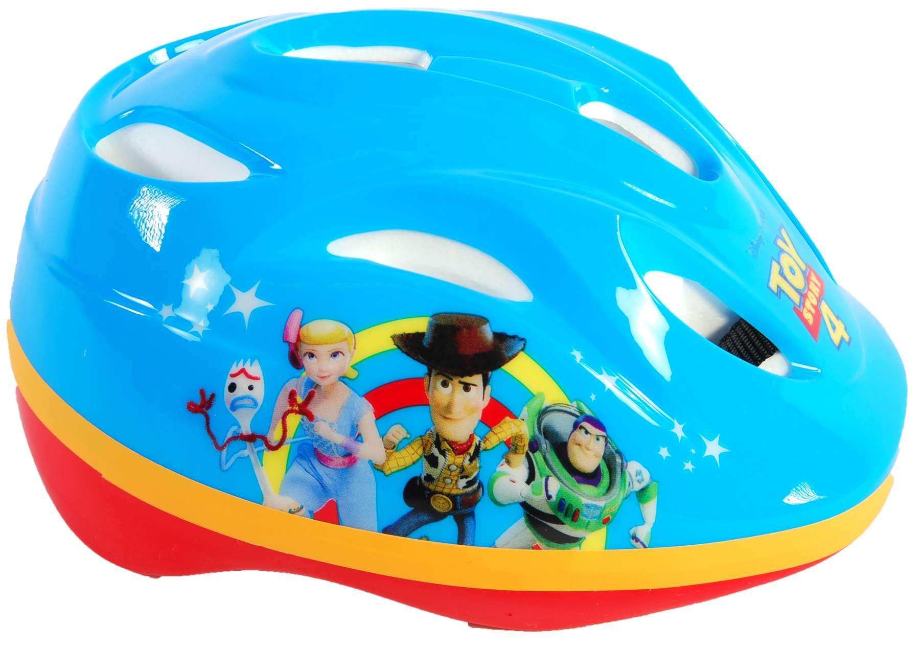 Volare - Dětská cyklistická přilba Disney Toy Story - přilba na bruslení Deluxe 51-55 cm