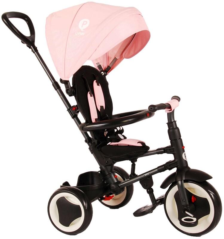 VOLARE - Dětská tříkolka, Tricycle Rito Deluxe, růžová