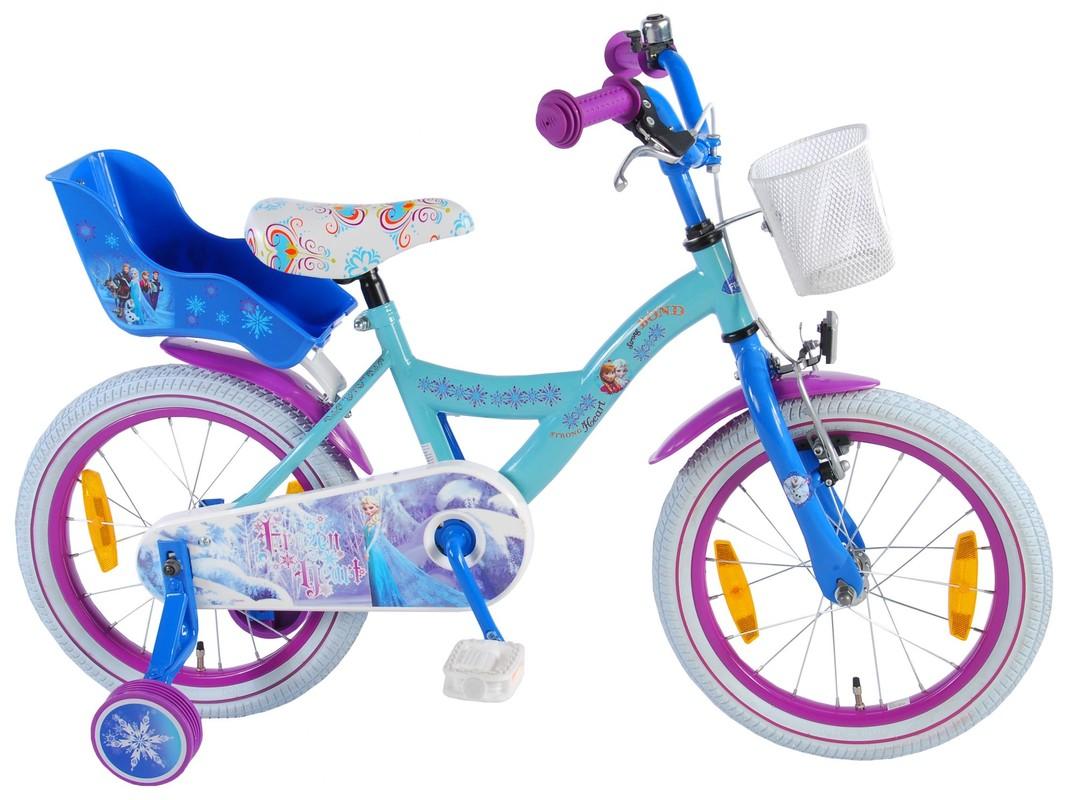 """VOLARE - Dětské kolo, Frozen 16 """", Blue, složený na 95%"""