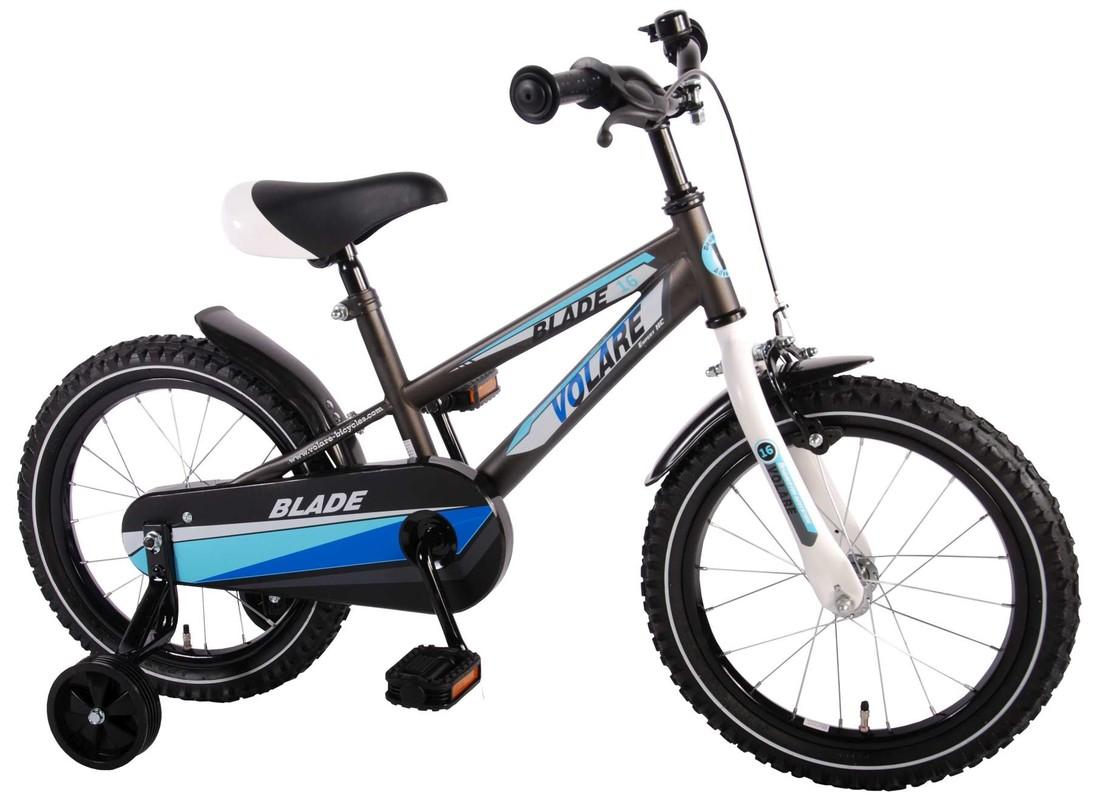 "VOLARE - Dětské kolo, Blade, 16 ""- černo-modrý"