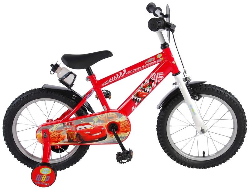 """VOLARE - Dětské kolo pro chlapce, Disney Cars, 16 """""""