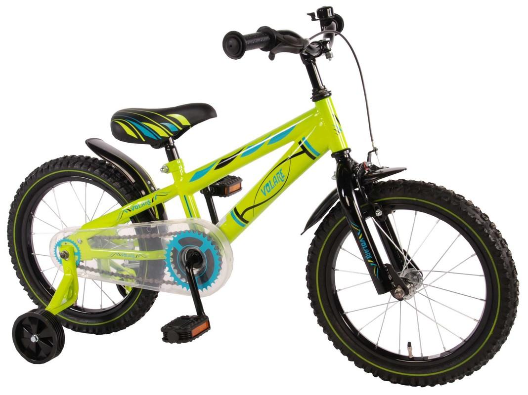 """VOLARE - Dětské kolo, Electric Green,, 16 """"- zelený"""