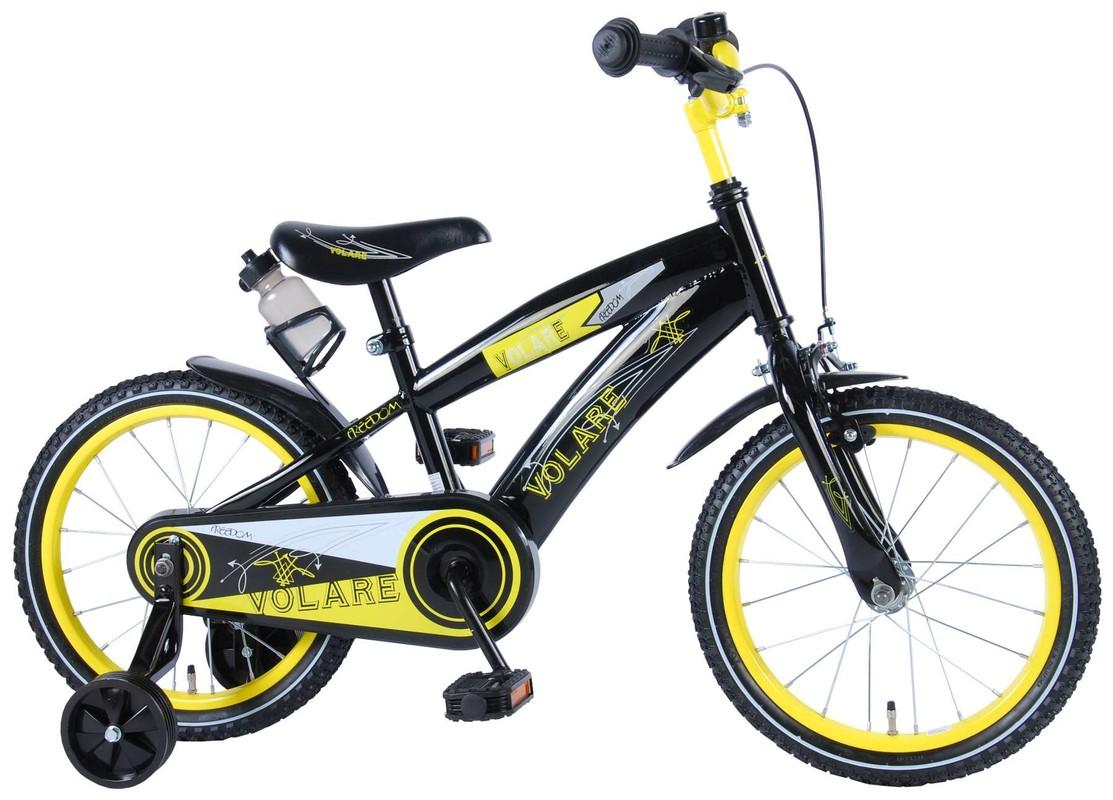 """VOLARE - Dětské kolo, Freedom,, 16 """"- černo-žlutý"""