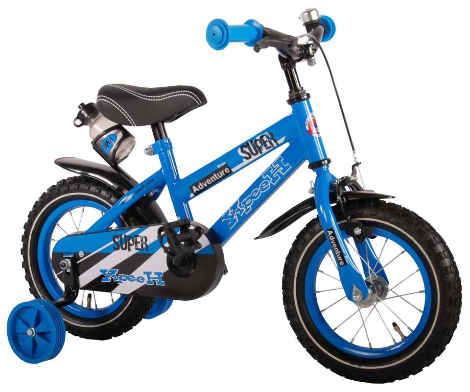 """VOLARE - Dětské kolo, Yipeeh Super Blue,, 12 """"- modrý"""