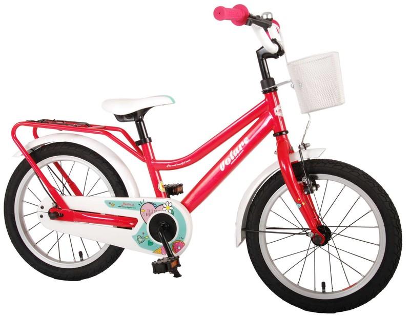 """VOLARE - Dětské kolo pro dívky Brilliant - růžový, 16 """""""