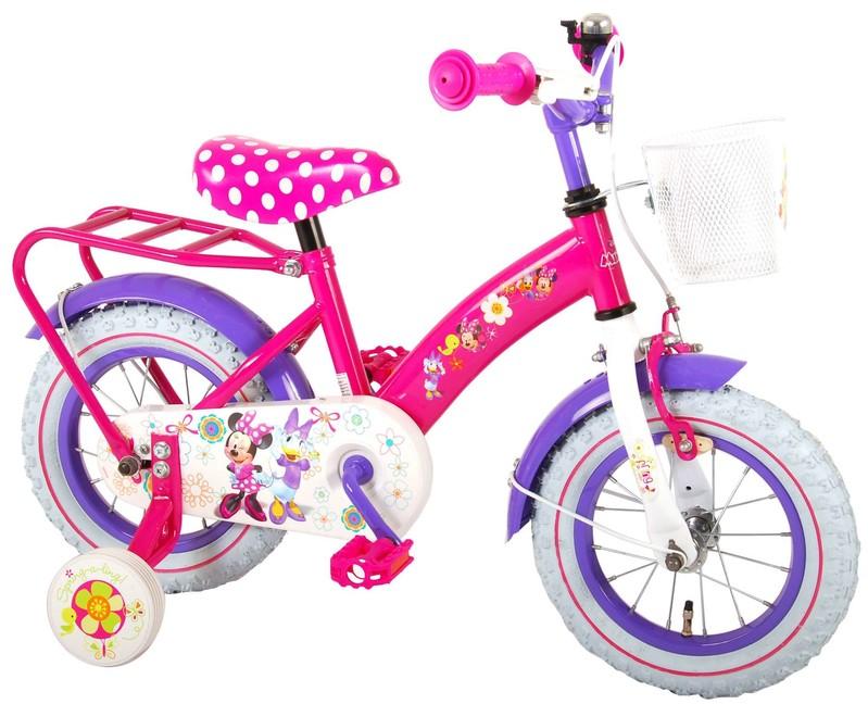 "VOLARE - Dětské kolo pro dívky Disney Minnie - růžový, 12 """