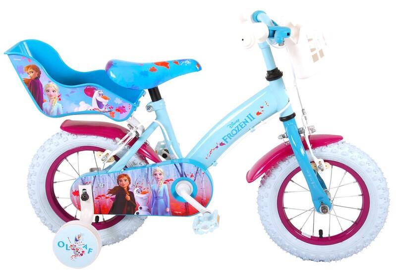 """VOLARE - Disney Frozen 2 Dětské kolo 12 """"- Blue / Purple"""