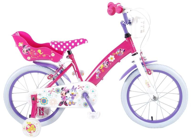 """VOLARE - Disney Minnie Bow-Tique Dětské kolo 16 """"- Pink"""
