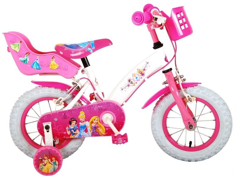 """VOLARE - Disney Princess dětský kola pro dívky 12 """"Pink"""