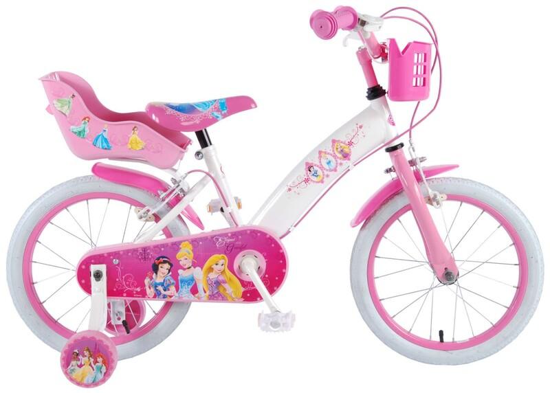 """VOLARE - Disney Princess dětský kola pro dívky 16 """"Pink"""