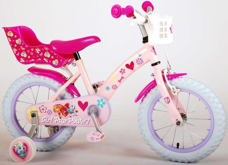"""VOLARE - Paw Patrol Dětské kolo 14 """"- Pink"""