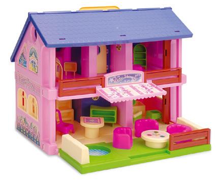 WADER - domeček pro panenky