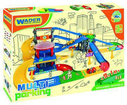 WADER - Kid Cars 3D Garáž Multi Parking