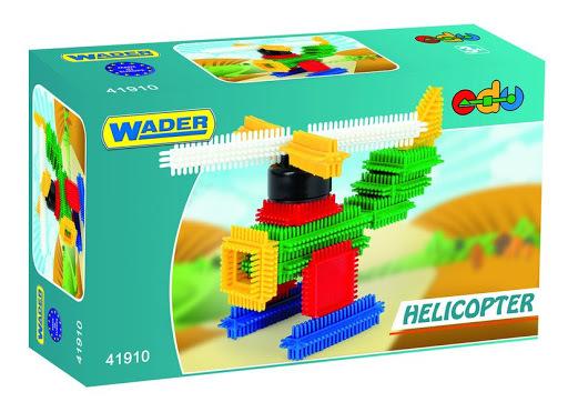 WADER - Kostky Needle Block (Ježci) Helikoptéra