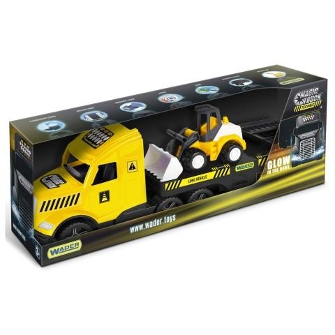 WADER - Magic Truck Technic Tahač s buldozerem