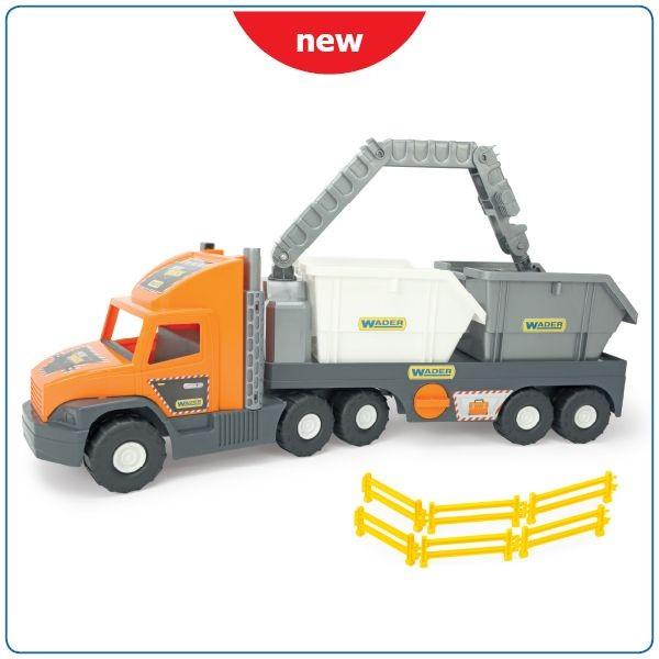 WADER - Super Tech Truck s kontejnery 36760