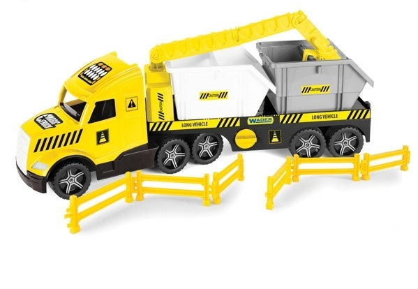 WADER - Tahač Magic Truck Technic s kontejnery