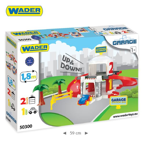 WADER - Wader 2 patrová garáž s výtahem 50300