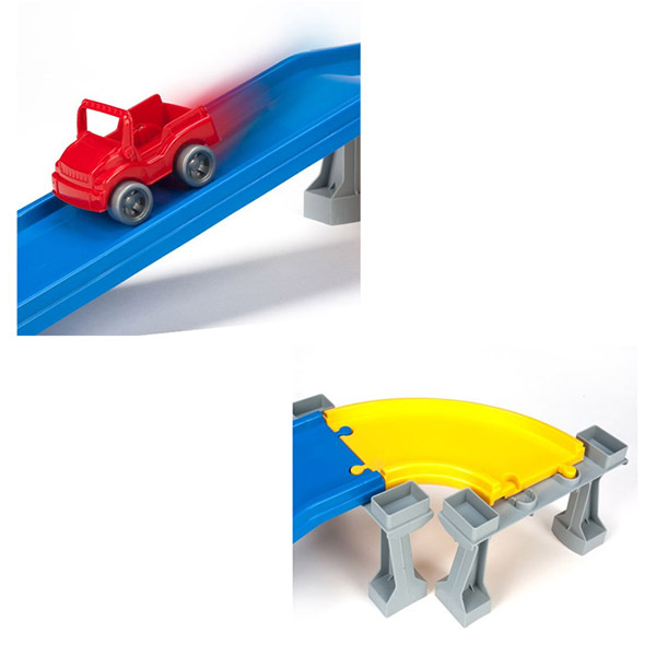 WADER - Wader Kid Cars 3D Mega Garáž 2 patra 53130