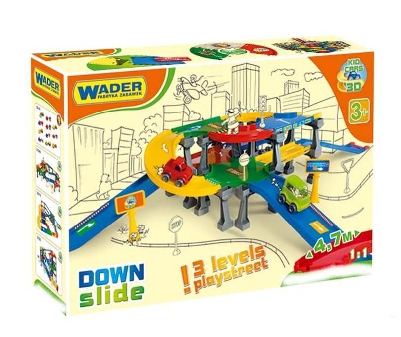 WADER - Wader Kid Cars 3D Mega Garáž 3 patra a výjezdy 53110