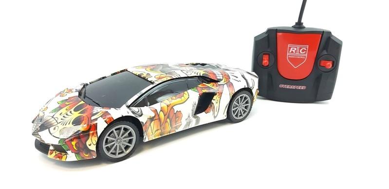 WIKY - Auto závodní RC se světelnými efekty 23cm - Lamborghini