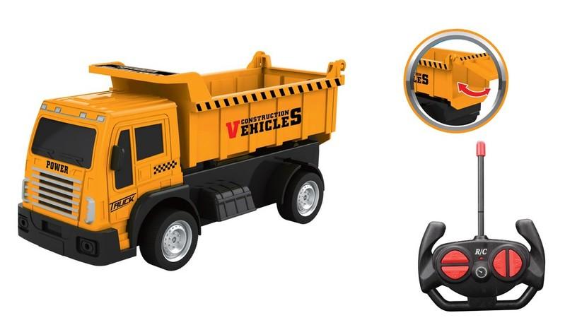 WIKY - Auto stavební sklápěcí RC 20cm